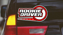 Rookie Driver Sign