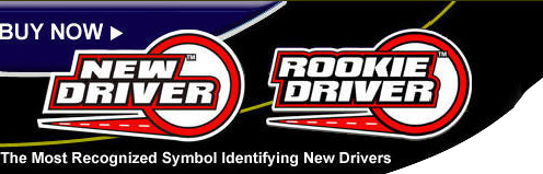 New Driver Sign | Rookie Driver Sign